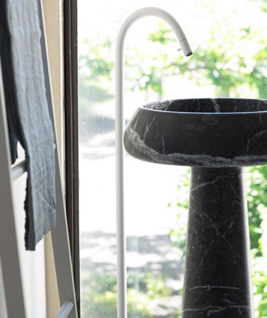 agape Bjhon 2 nero marquinha zwarte wastafel
