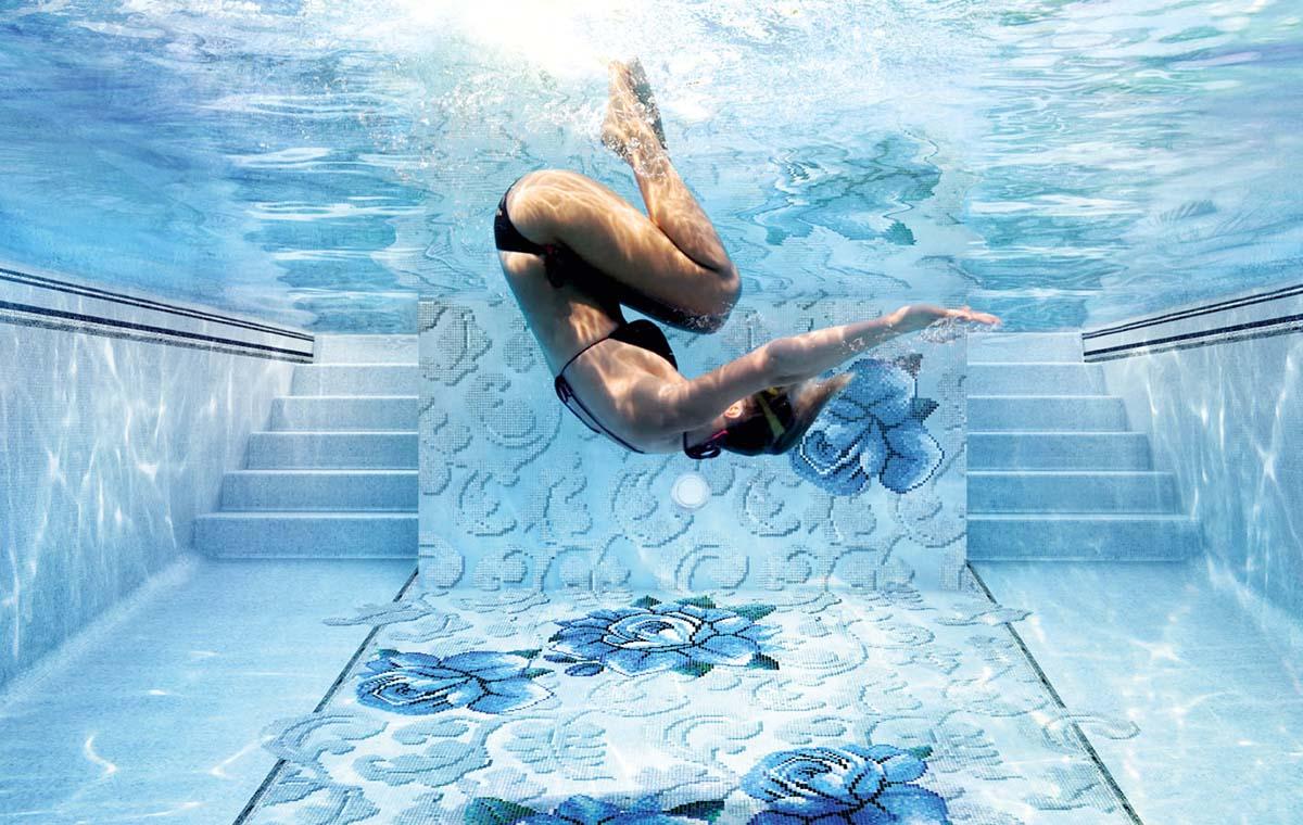 Zwembad tegels sjartec badkamers wellness en tegels in leiden