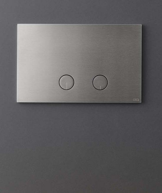 Ceadesign RVS bedieningpaneel voor toilet
