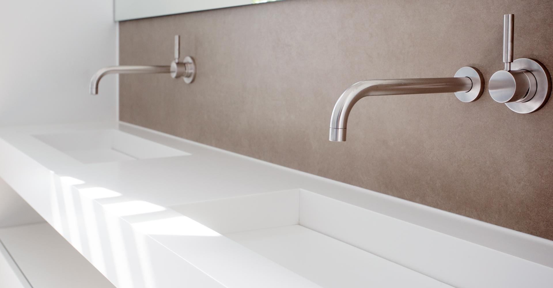 Badkamer Wastafel Afvoer : Maatwerk sjartec badkamers wellness en tegels in leiden