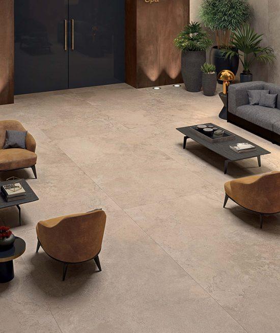 Exclusieve vloertegel in super groot formaat - Woonkamer, badkamer of wellness