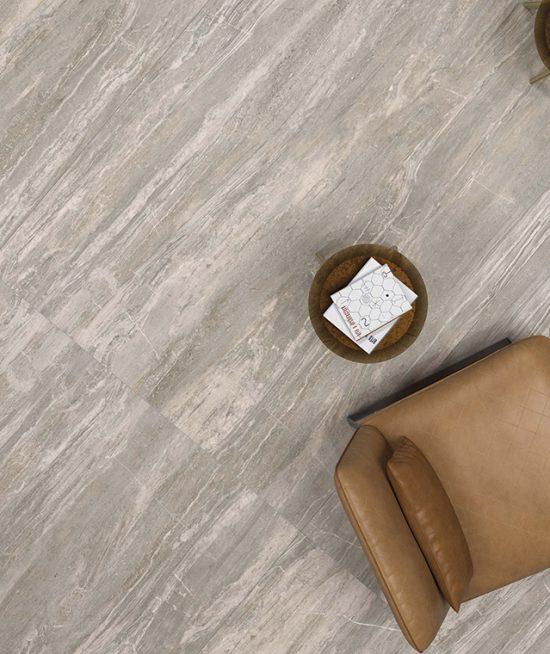 Exclusieve arabescato natuursteen vloer