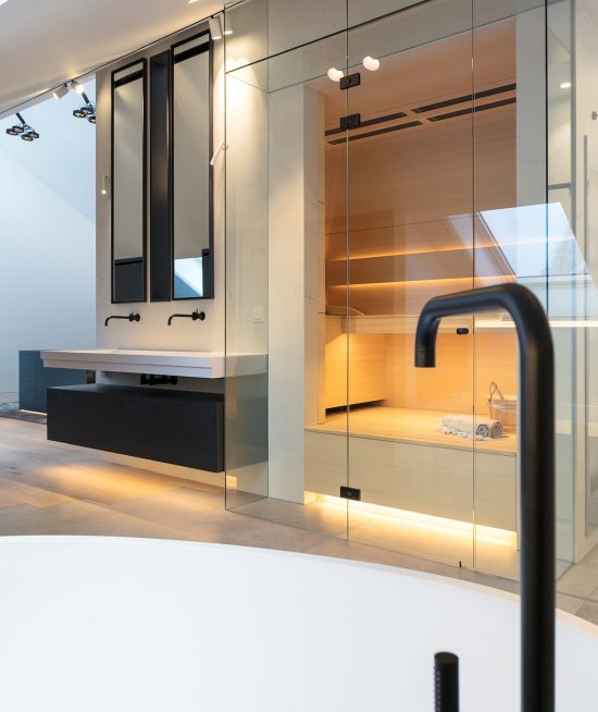 Maatwerk luxe sauna-SJARTEC