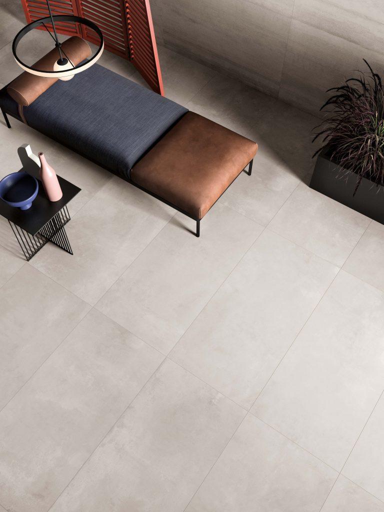 Luxe soft grey vloertegel