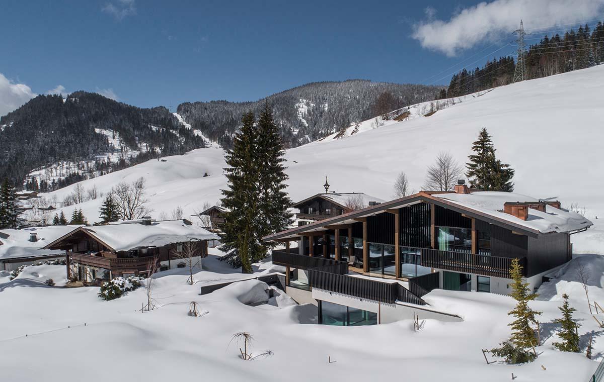 Custom-made wellness villa Oostenrijk