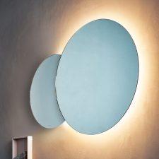 Agape Eclissi Spiegel Met LED Verlichting