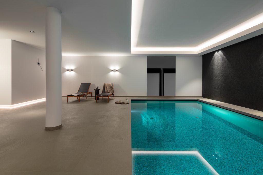 Wellness ruimte met zwembad